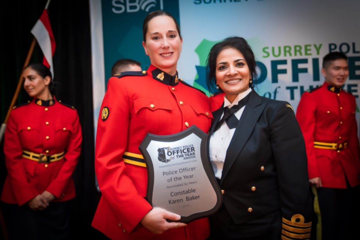 Surrey Police Officer Of The Year Awards Surrey Board Of Trade